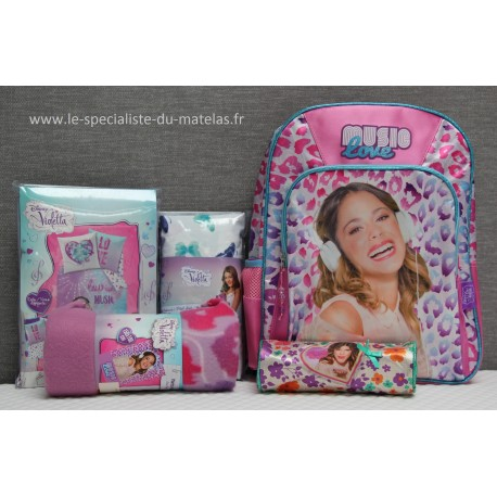 Pack promotionnel Violetta -50%