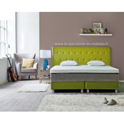 Boxspring Sealy Button fixe