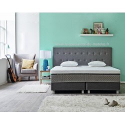 Boxspring Sealy Button réglable