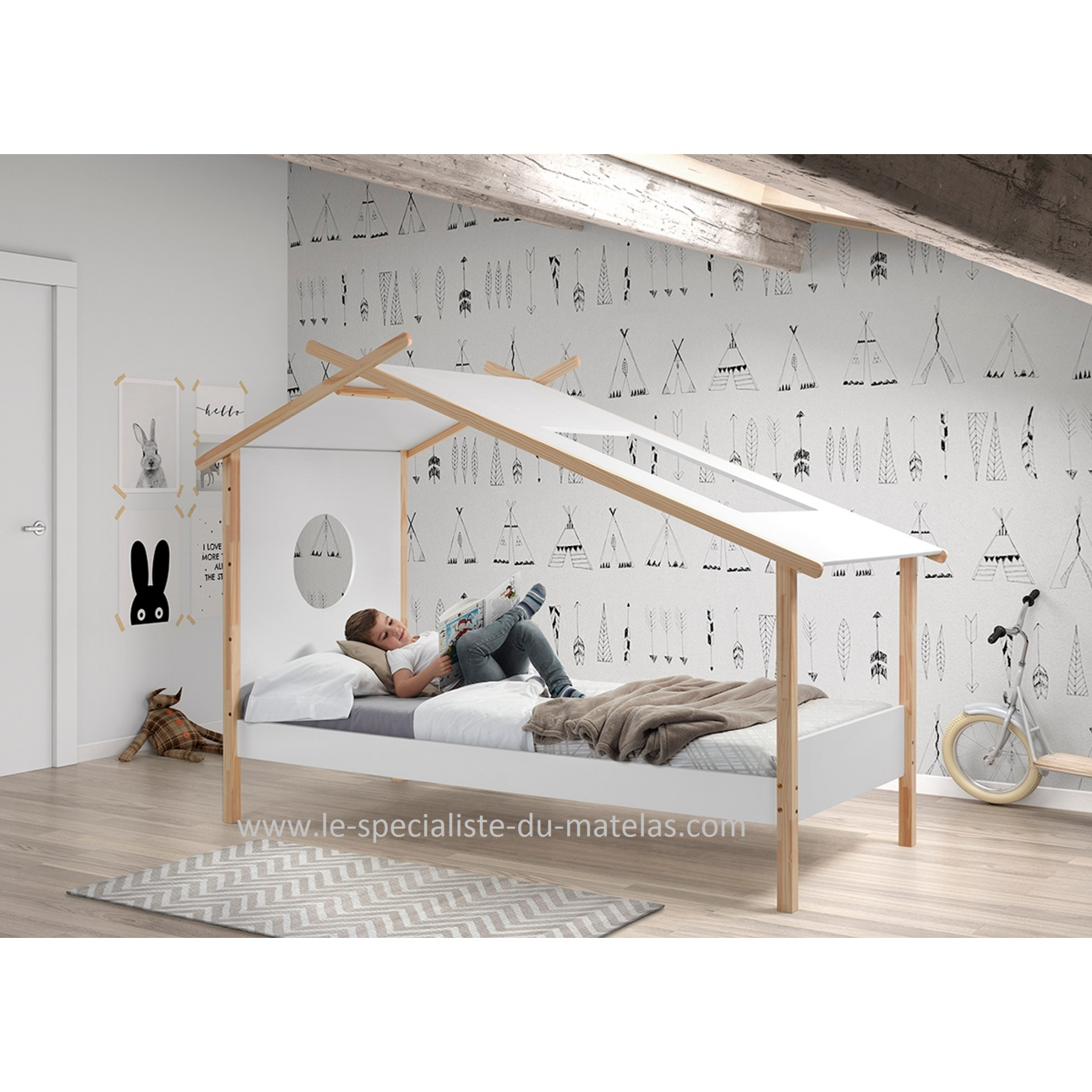 great lit cabane cocoon with lit cabane mathy by bols. Black Bedroom Furniture Sets. Home Design Ideas