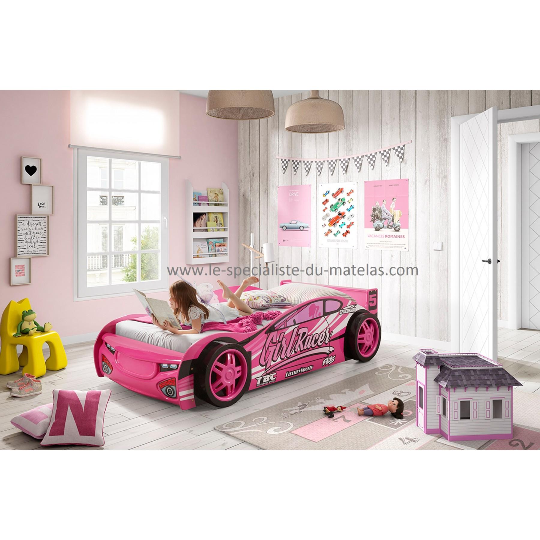 lit voiture fille - Lit Fille