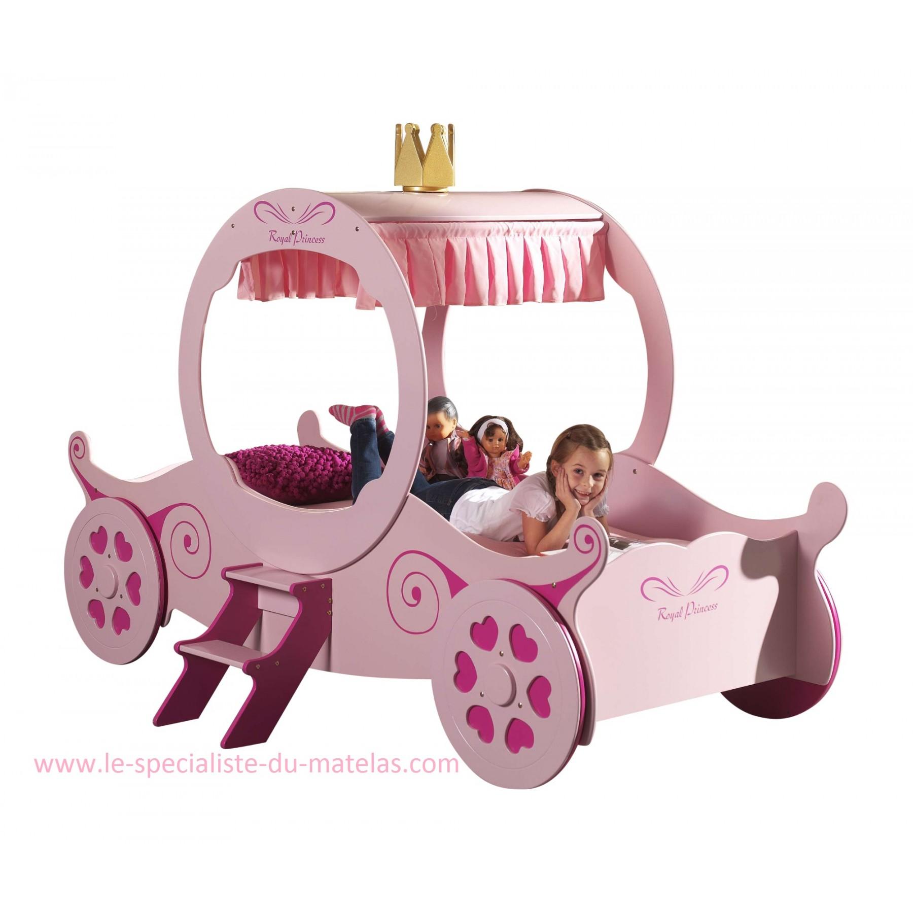 Lit carrosse fille - Carrosse de princesse ...