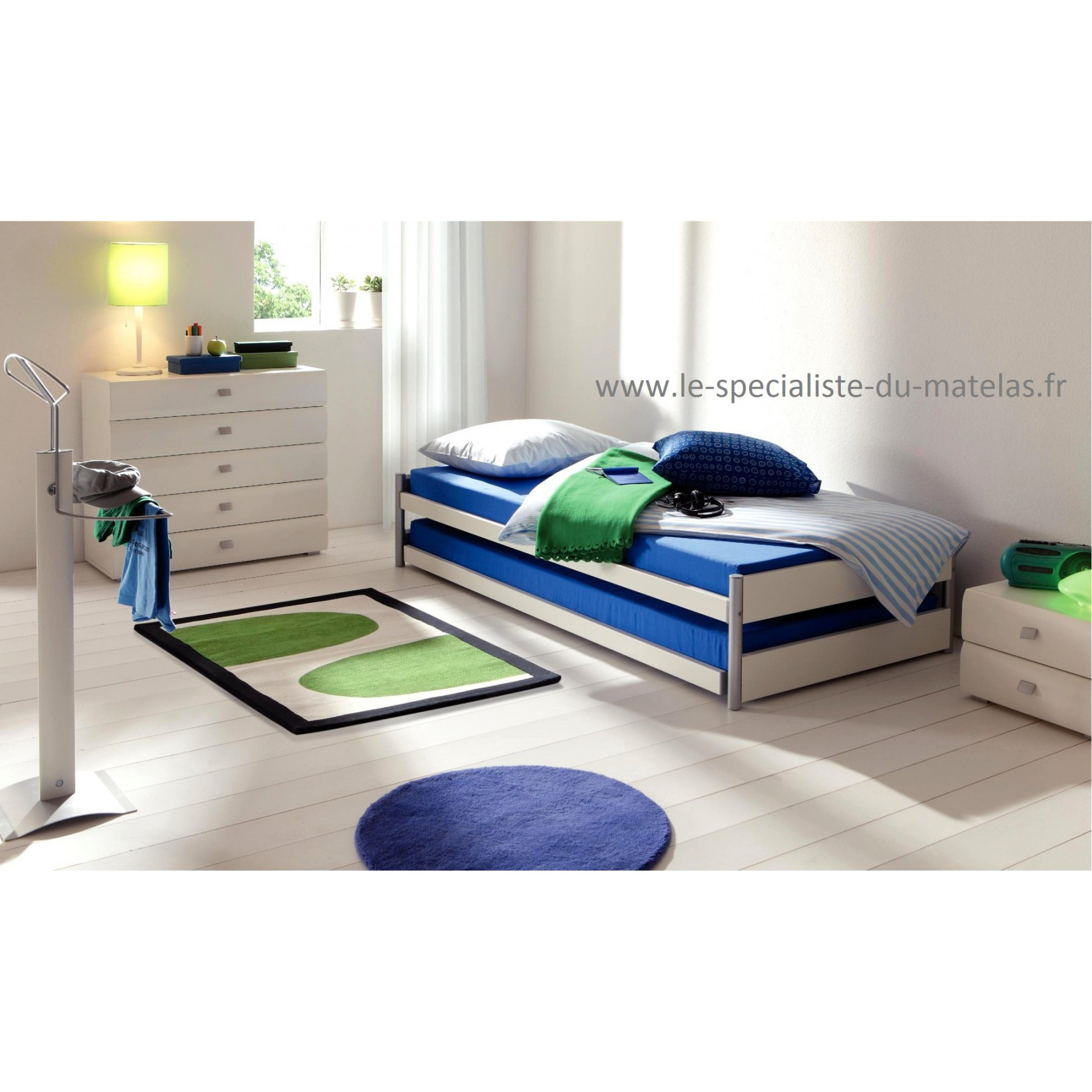 lit gigogne hasena mod le pully d couvrir au le sp cialiste du matelas. Black Bedroom Furniture Sets. Home Design Ideas