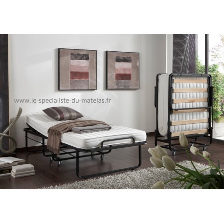 lit pliant lattes avec t te relevable le sp cialiste du matelas. Black Bedroom Furniture Sets. Home Design Ideas