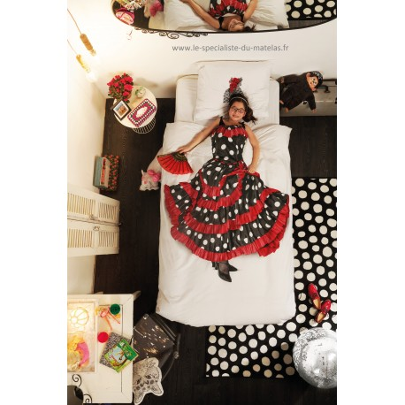 Housse de couette enfant Snurk Flamenco