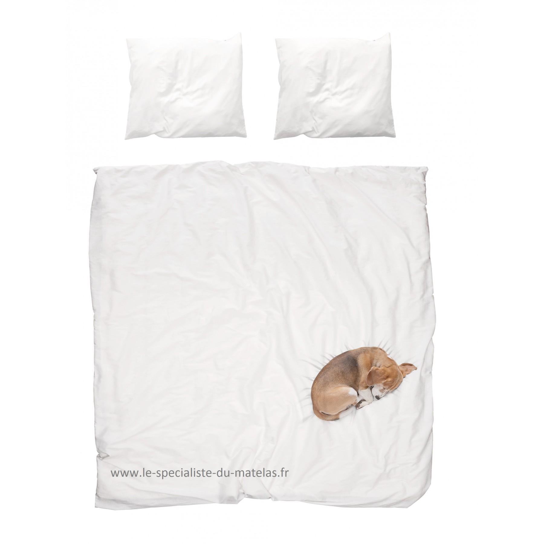 housse de couette snurk chien bob d couvrir au le sp cialiste du matelas. Black Bedroom Furniture Sets. Home Design Ideas