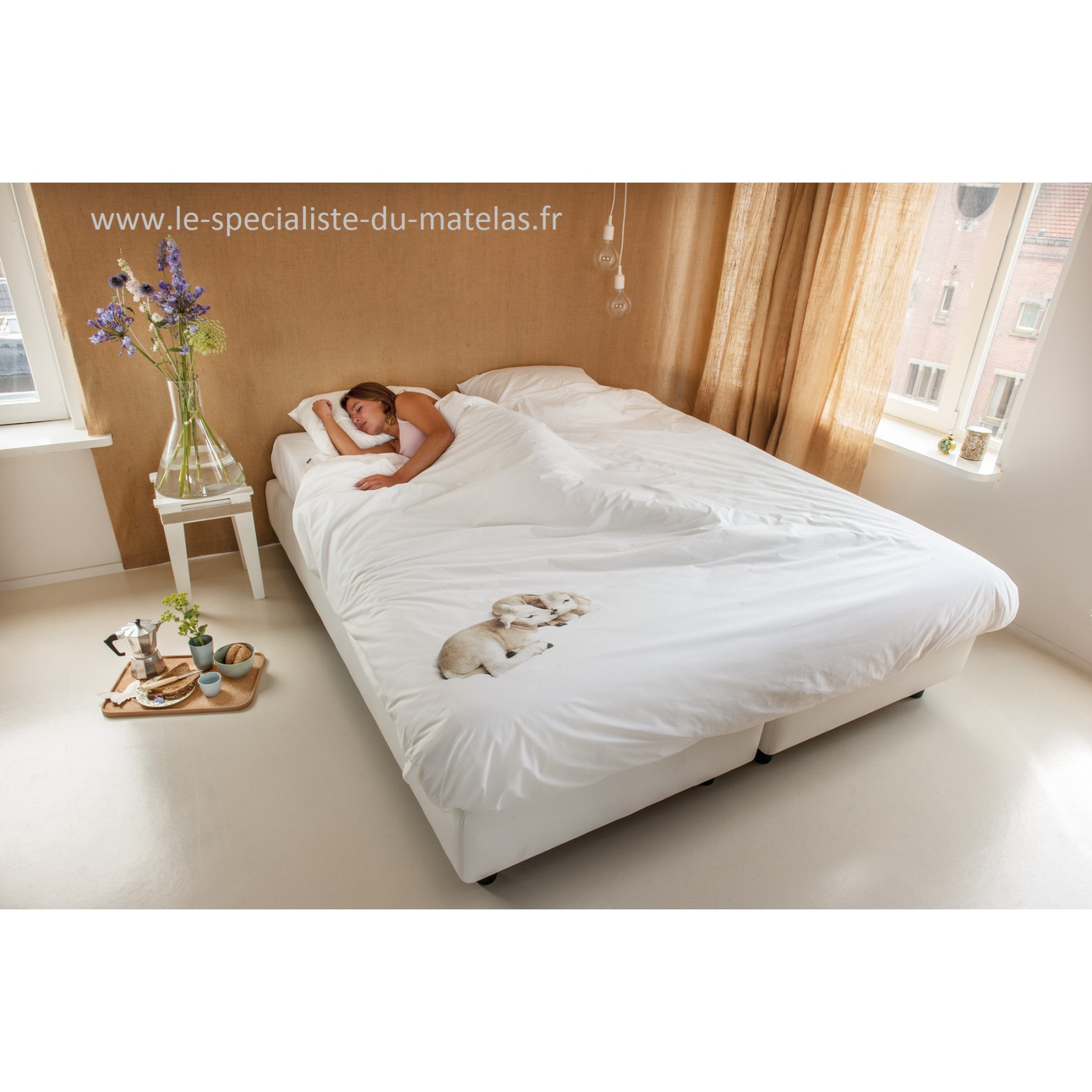 housse de couette snurk mouton d couvrir au le sp cialiste du matelas. Black Bedroom Furniture Sets. Home Design Ideas