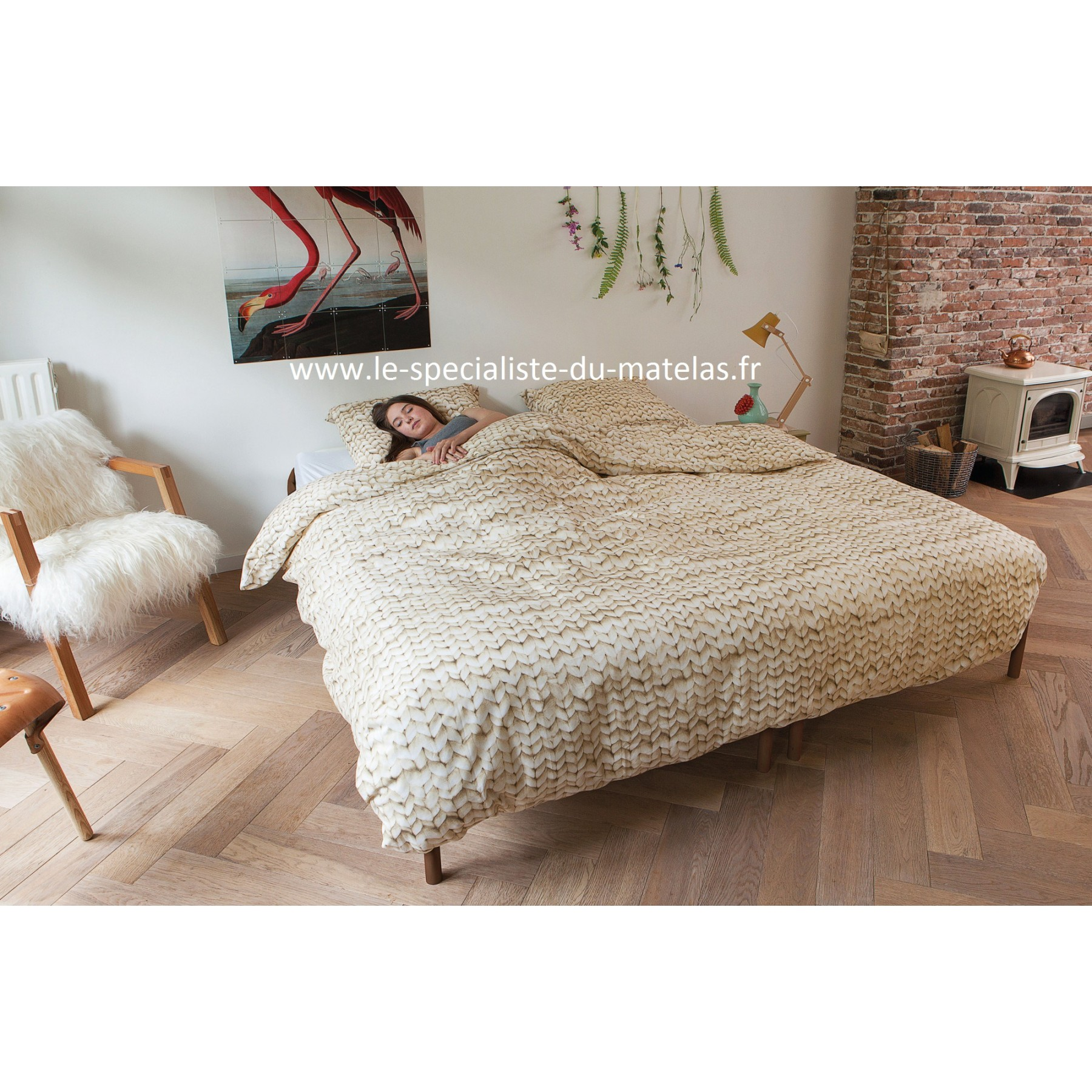 housse de couette trompe l 39 oeil snurk laine d couvrir au le sp cialiste du matelas. Black Bedroom Furniture Sets. Home Design Ideas
