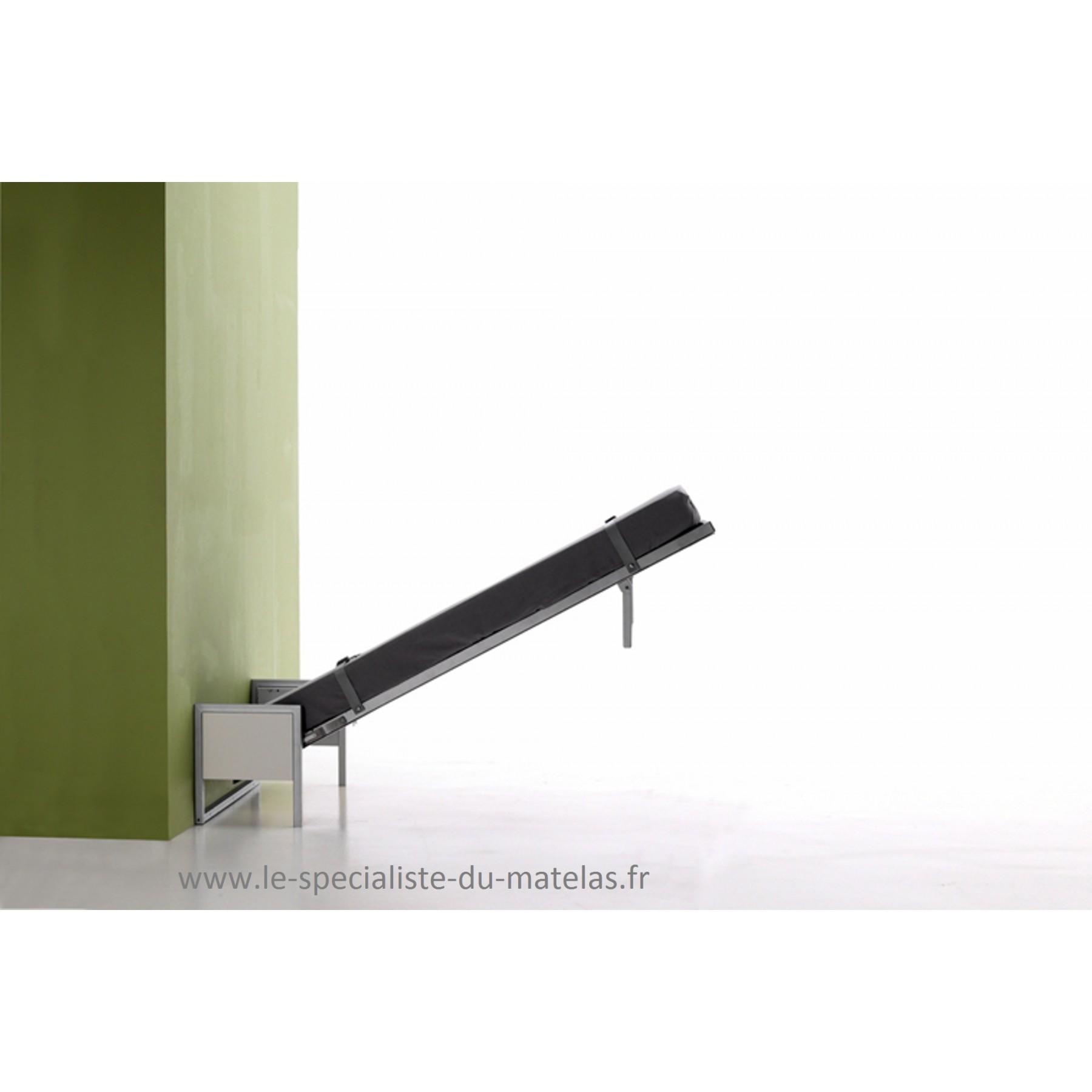 cheap lit sommier relevable lit escamotable boone modle cubed au spcialiste du matelas with lit. Black Bedroom Furniture Sets. Home Design Ideas