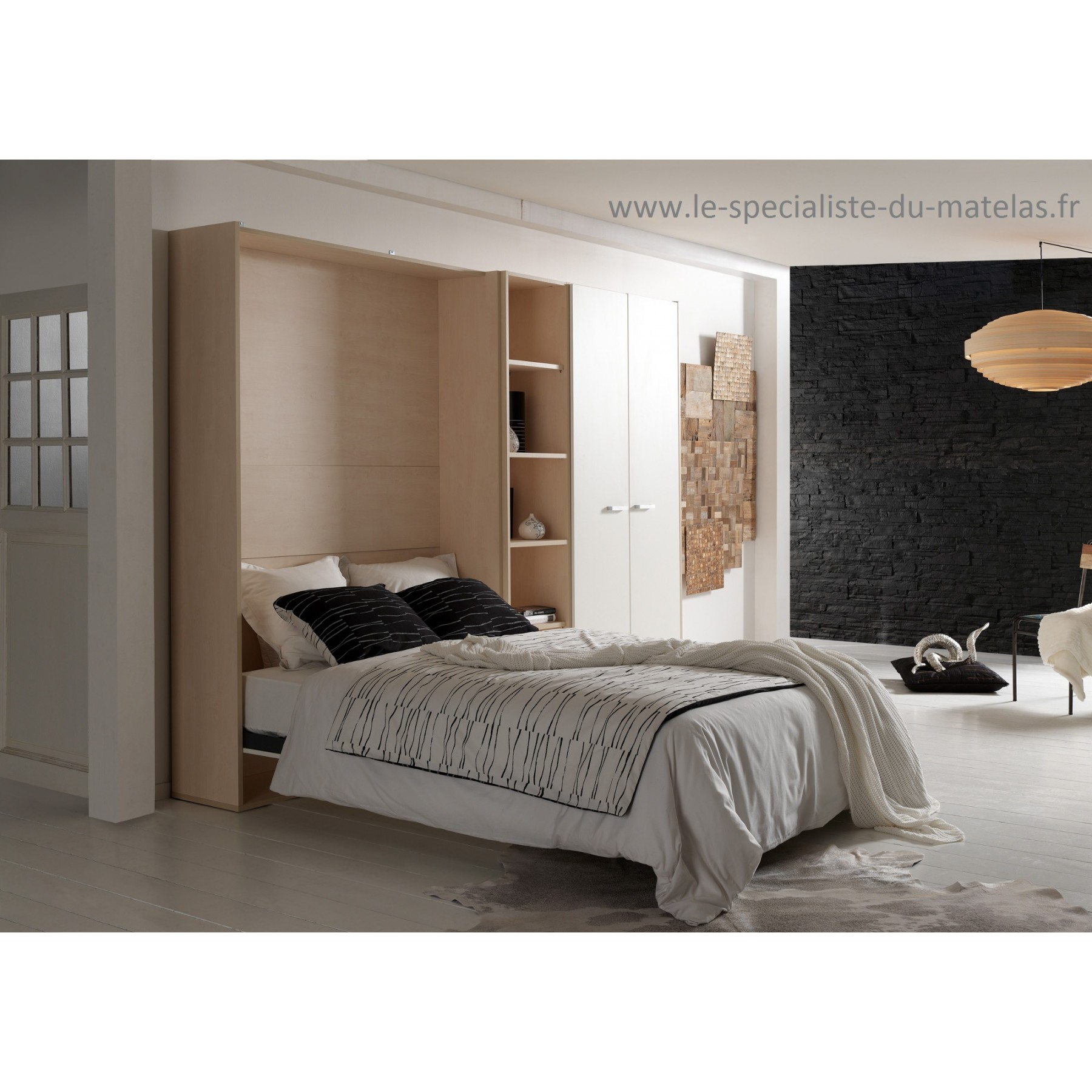 lit escamotable vertical boone mod le base selecta d couvrir au le sp cialiste du matelas. Black Bedroom Furniture Sets. Home Design Ideas