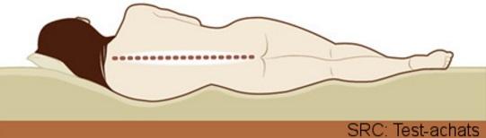 Matals et maintien de la colonne vetébrale